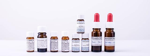 homeopatika v lahvičkách